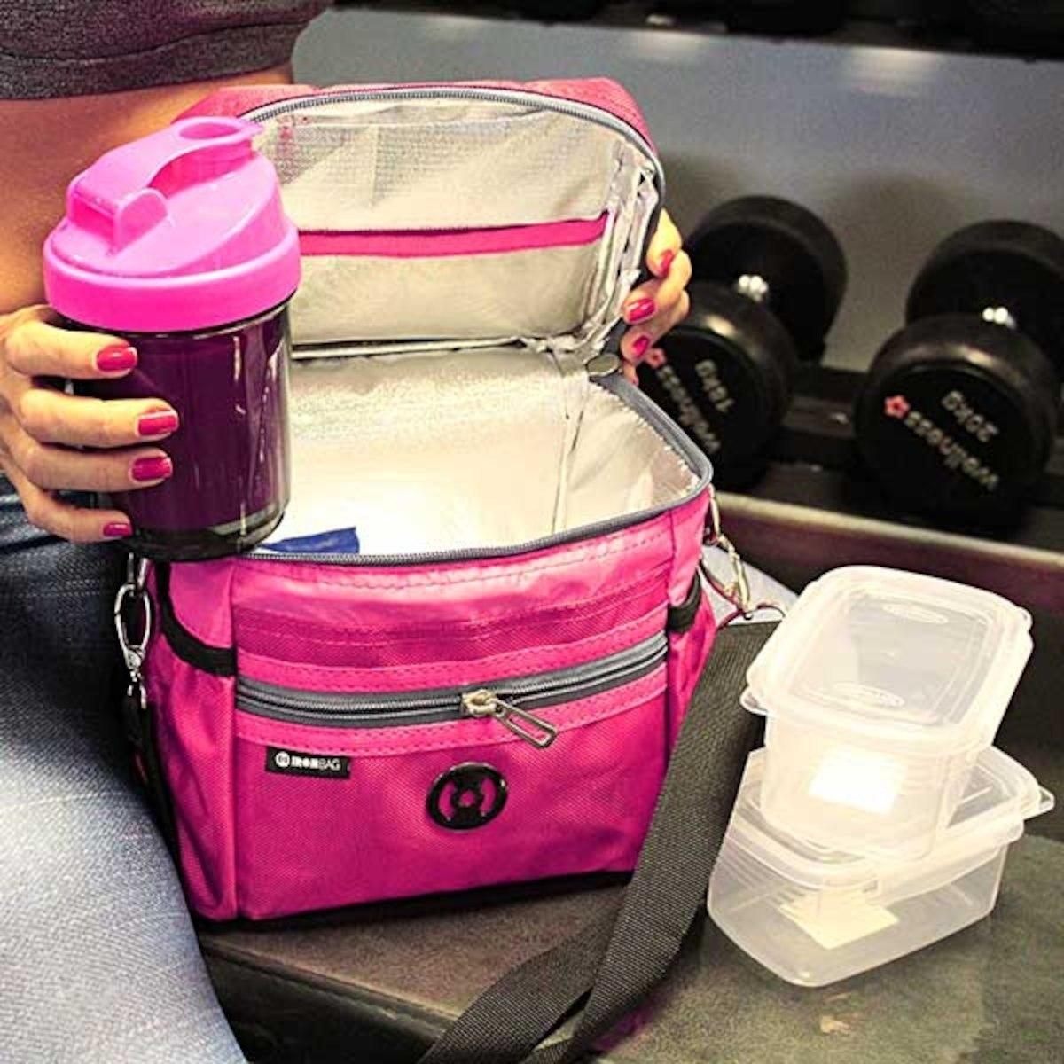 a1c78f34f Bolsa Térmica Iron Bag Mini Pop Rosa - Bolsa Térmica Fitness
